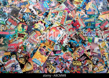 Comic books - Stock Photo