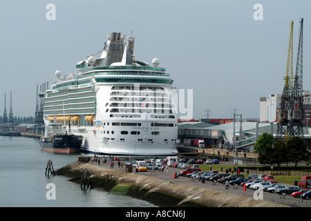 Port Of Southampton Navigator Of The Seas Cruise Ship