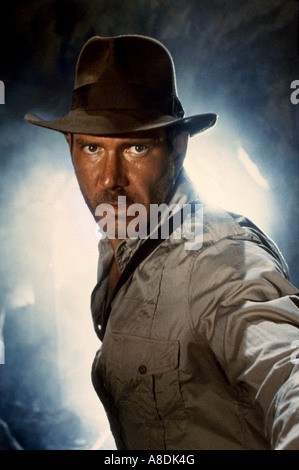 INDIANA JONES AND THE TEMPLE OF DOOM - 1984 Paramount/George Lucas film with Harrison Ford - Stock Photo