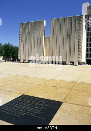 J.F. Kennedy Memorial, Dallas, Texas, USA - Stock Photo