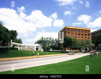The Sixth Floor Museum at Dealey Plaza Dallas, Texas, USA - Stock Photo