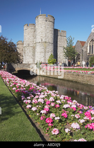View Of East Gate, Canterbury, Kent