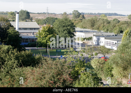 Brand new school under construction in Swindon - Stock Photo