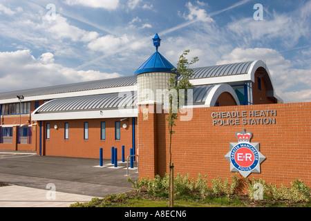 Cheshire Stockport Cheadle Heath new police station - Stock Photo