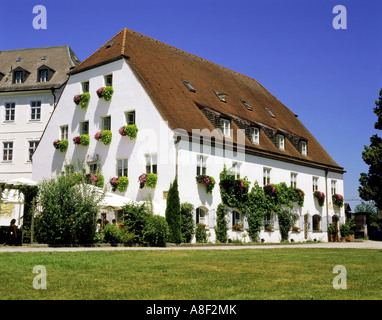 geography / travel, Germany, Bavaria,  Frauenchiemsee, gastronomy, restaurant Klosterwirt, exterior view, Additional - Stock Photo