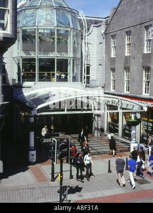 M&S Aberdeen City Centre entrance in St Nicholas Street off