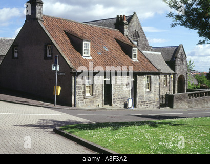 dh Andrew Carnegie DUNFERMLINE FIFE Cottage house museum where Andrew Carnegie was born birthplace