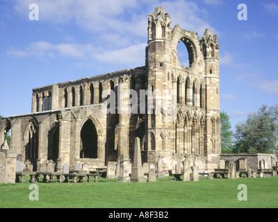 dh Elgin cathedral ELGIN MORAY East wall ruins