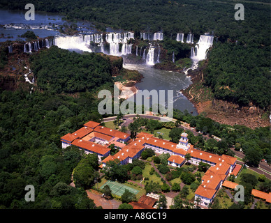 Brazil Iguazu Falls - Stock Photo