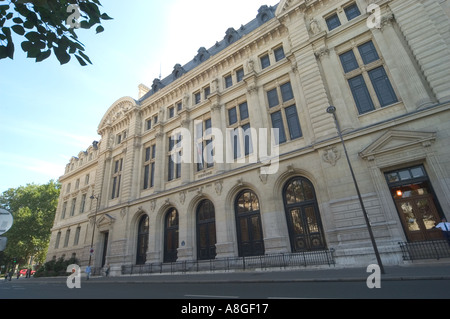 Sorbonne University Paris France - Stock Photo