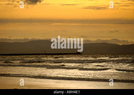 Ireland, County Antrim, Portstewart Strand - Stock Photo