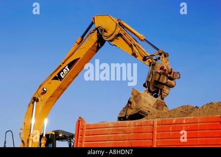 Steamshovel - Stock Photo