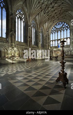 The Lady Chapel, Ely Cathedral, Cambridgeshire, UK - Stock Photo