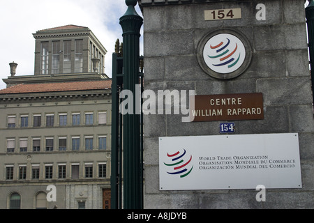 World Trade Organisation Headquarters, Geneva, Switzerland - Stock Photo