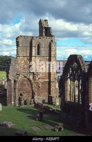 elgin cathedral ruins moray scotland uk gb - Stock Photo