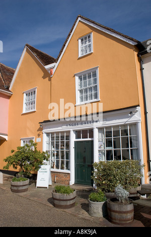 Angel Gallery Lavenham Suffolk England - Stock Photo