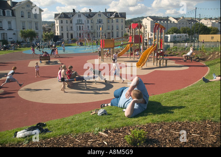 In Britains Playgrounds Bringing In >> Playground Boy Run Play Side View Blur Person Child Shirt