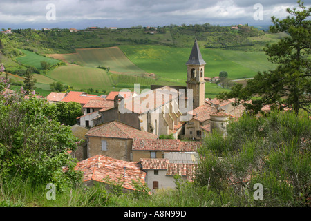 Lautrec Village near Toulouse Tarn Region France - Stock Photo