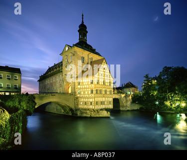 DE - BAVARIA: 'Altes Rathaus' in Bamberg - Stock Photo