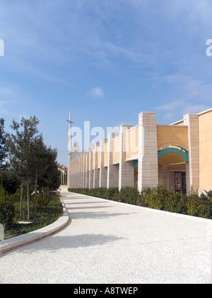 the new church of Padre Pio in San Giovanni Rotondo , Renzo Piano architect , foggia , apulia , italy , europe - Stock Photo