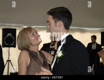 Mother And Son Dance Stock Photo 278565141 Alamy