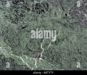 Still life Stone surface Polished green marble - Stock Photo