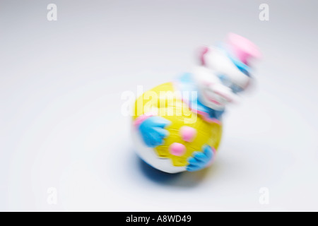 Roly Poly Toy Clown - Stock Photo