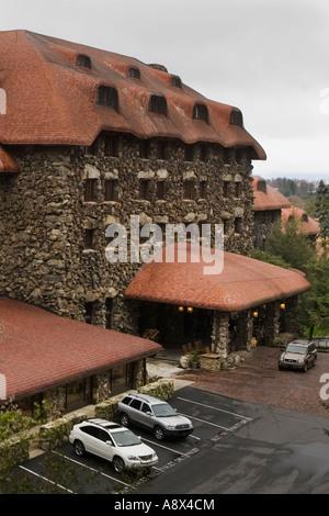 Grove Park Inn Asheville North Carolina - Stock Photo