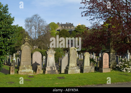 dh  STIRLING STIRLINGSHIRE Stirling town Valley cemetery and Stirling Castle