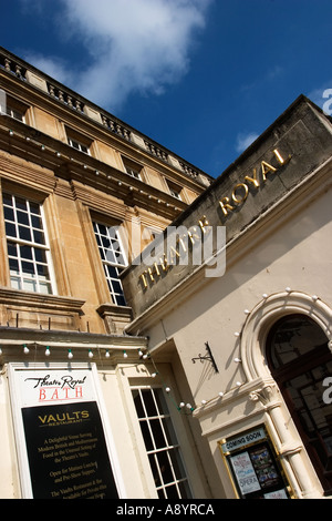 The New Theatre Royal in Bath Somerset England - Stock Photo