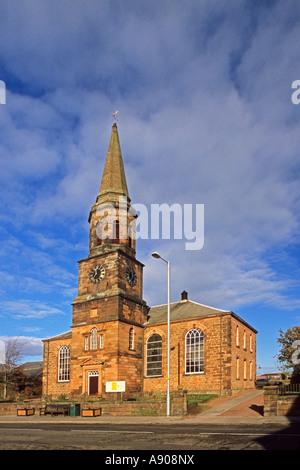 Old Parish Church Annan - Stock Photo
