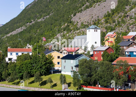 Oksfjord Norway - Stock Photo