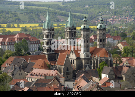 St. Peter and Paul Cathedral, Naumburg, Saxony-Anhalt, Germany - Stock Photo