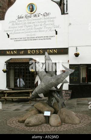 Ross on Wye Herefordshire England GB UK 2006 - Stock Photo