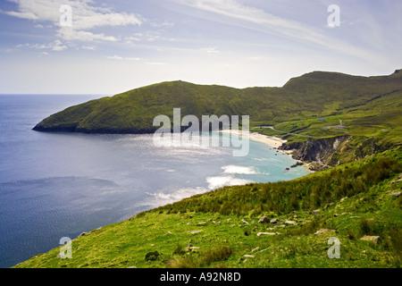 Keel Beach Achill Island County Mayo Eire - Stock Photo