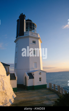 LIGHTHOUSE CORNWALL ENGLAND Europe Cornwall - Stock Photo
