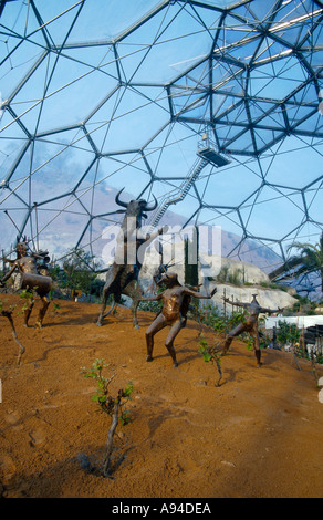 EDEN PROJECT CORNWALL ENGLAND Europe Cornwall - Stock Photo