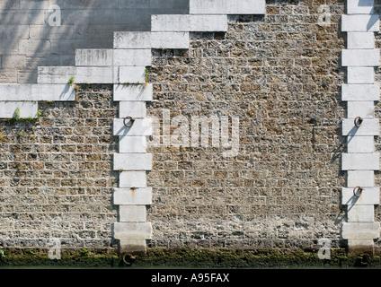 Wall, close-up - Stock Photo