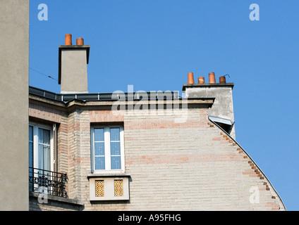 Apartment building, partial view - Stock Photo