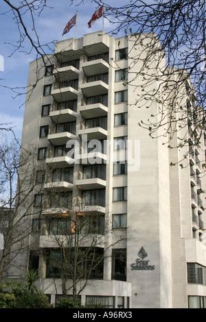 Four Seasons Hotel.Park Lane.London.UK.2006 - Stock Photo
