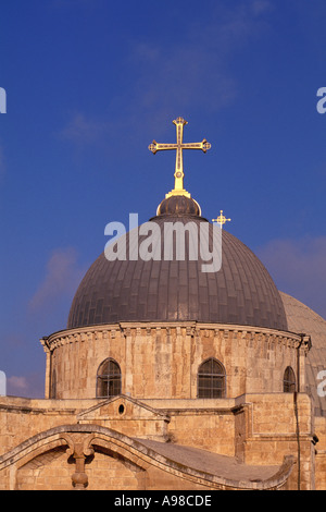 Israel, Jerusalem, Church of the Holy Sepulchre - Stock Photo