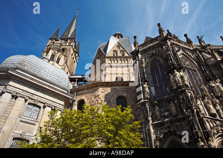 Aachen Dom Cathedral Aachen Germany Europe - Stock Photo