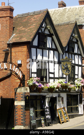 A traditional English Pub, Bridge Street, Hereford, Herefordshire, England, UK, United Kingdom, Great Britain, Europe - Stock Photo