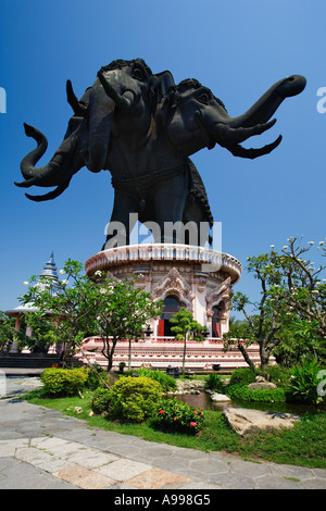 The Erawan Museum Bangkok Thailand The Elephant Of The Universe Stock Photo, ...