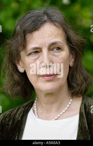 Claire Tomalin Whitbread Book of the Year Winner pictured at Hay Festival 2003  Hay on Wye Powys Wales UK - Stock Photo