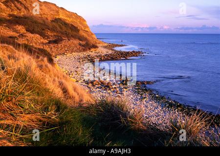 Hannahs Ledge at Osmington Mills on the Dorset county coastline England UK - Stock Photo