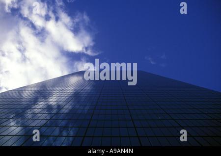 JOHN HANCOCK TOWER BUILDING BOSTON MASSACHUSETTS USA - Stock Photo