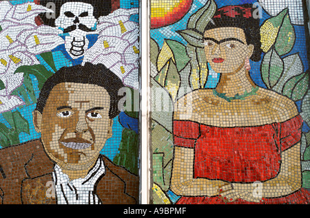 Pilsen chicago illinois u s a a mexican american for Diego rivera mural chicago