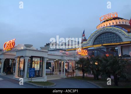 Evian, Casino, Savoie, France. - Stock Photo