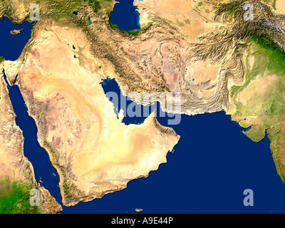 middle east map Stock Vector Art Illustration Vector Image
